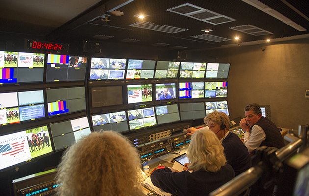 Behind the scenes at Channel 4 racing